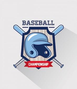 Jeu de sport de baseball