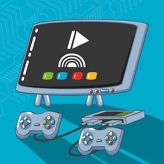 Jeu de technologie de jeu vidéo gadgets