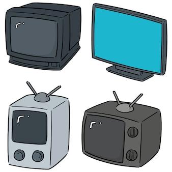 Jeu de télévision vectorielles
