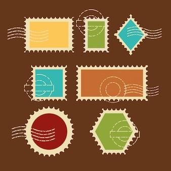 Jeu de timbres de qualité premium