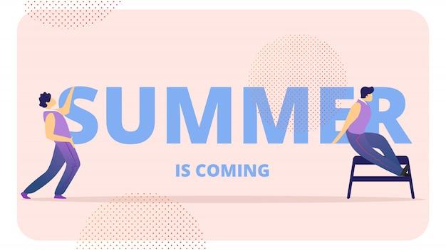 Les jeunes célèbrent l'été approche