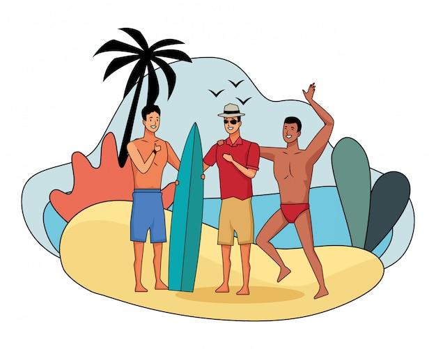 Les jeunes et les dessins animés de l'été