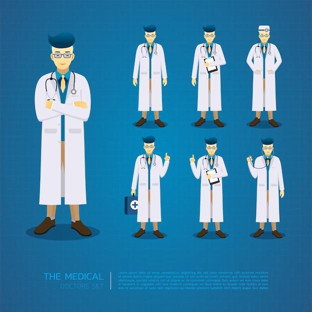 Les jeunes médecins conçoivent tous des personnages d'action.