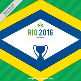 Jeux olympiques brazil fond