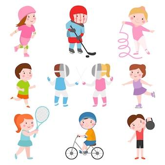 Jeux de sport pour enfants