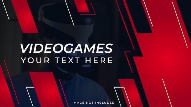 Jeux vidéo vlogger youtube thumbnail