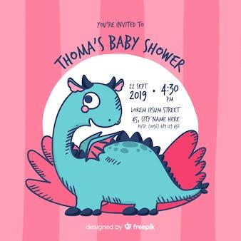 Joli modèle de douche de bébé pour fille