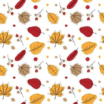 Joli modèle sans couture automne