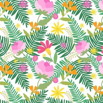 Joli motif floral exotique
