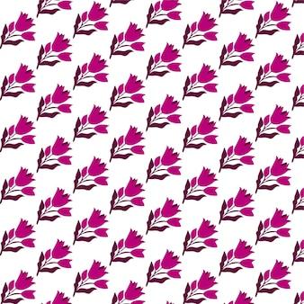 Joli motif floral sans couture dans le fond de wallpaprt de petites fleurs imprimé ditsy