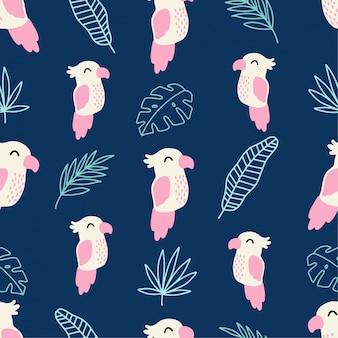 Joli parrot tropical summer summless motif