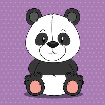 Joli personnage de panda