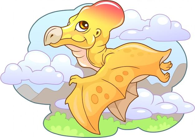 Joli ptérodactyle