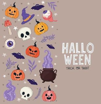 Jolie affiche d'halloween