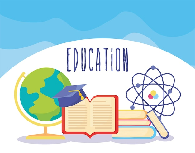 Jolie cartel de l'éducation