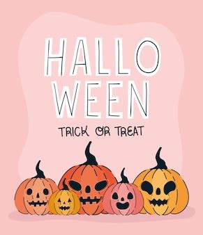 Jolie cartel d'halloween