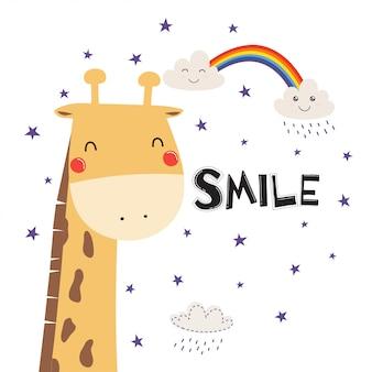 Jolie girafe