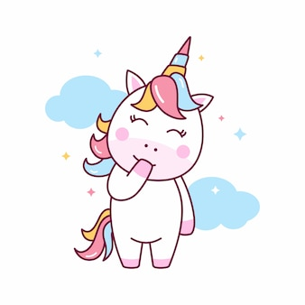 Jolie illustration de licorne