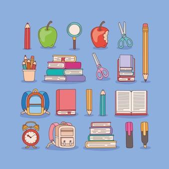 Jolies fournitures scolaires