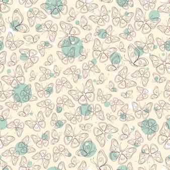 Jolis papillons violets