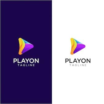 Jouer au logo multimédia