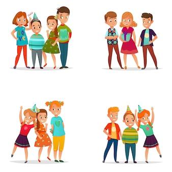Jouer aux enfants 4 cartoon