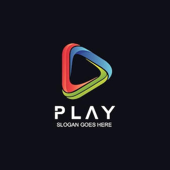 Jouer le logo de l'icône