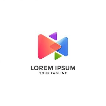 Jouer modèle de logo