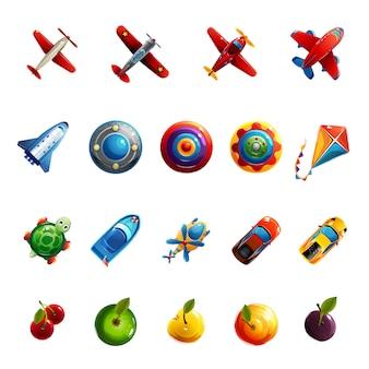 Jouets et objets pour enfants