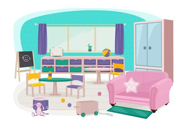 Jouets pour enfants d'âge préscolaire maternelle chambre d'enfants meubles doux chambre lit bureau collection d'articles d'éducation.