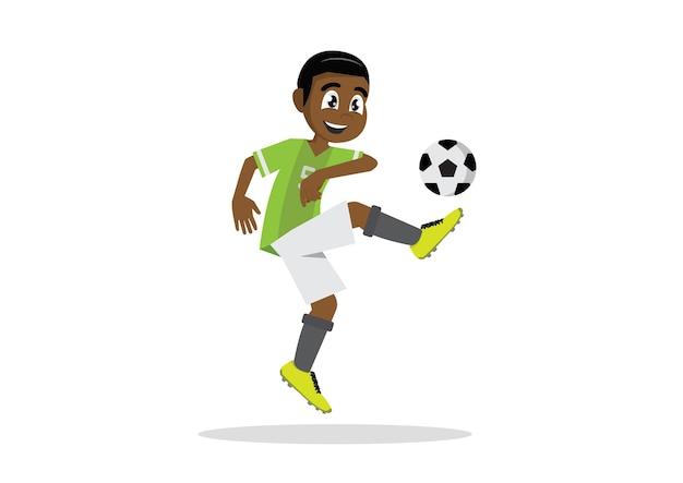 Joueur de football de football