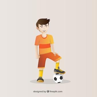 Joueur de football de nice