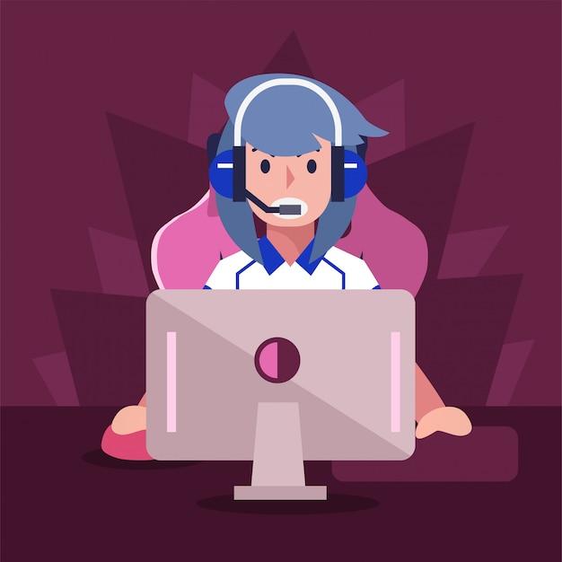 Joueur de sport électronique