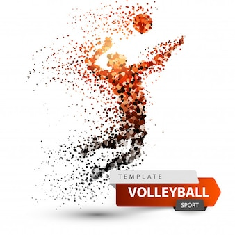 Joueur de volleyball