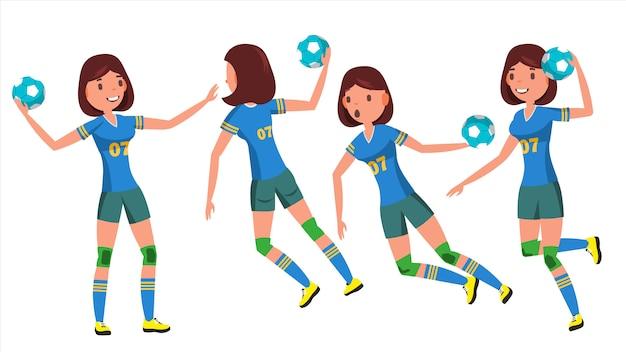 Joueuse de handball