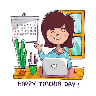 Le jour du professeur