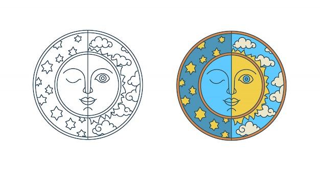 Jour de l'équinoxe de printemps et de l'équinoxe d'automne.