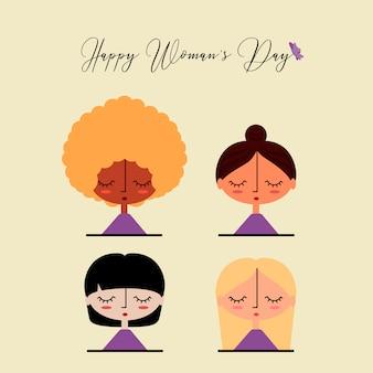 Jour de la femme heureuse