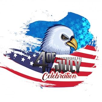 Jour de l'indépendance aux états-unis d'amérique.