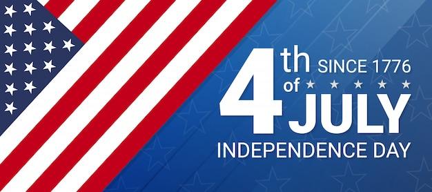 Jour de l'indépendance du 4 juillet aux états-unis. célébrations du jour de l'indépendance aux états-unis d'amérique.