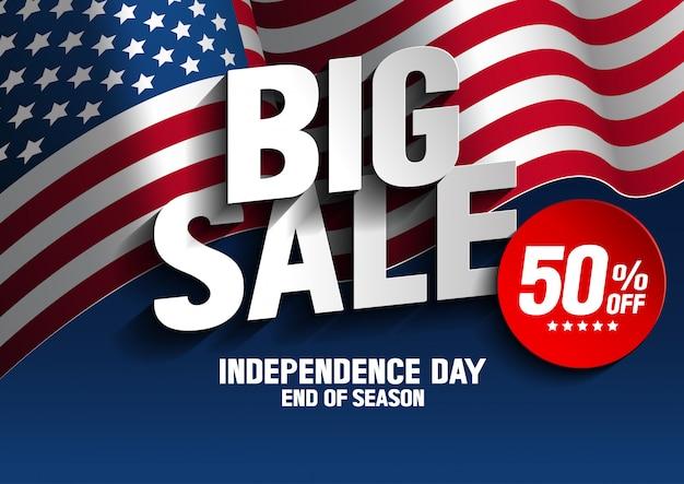 Jour de l'indépendance grande vente