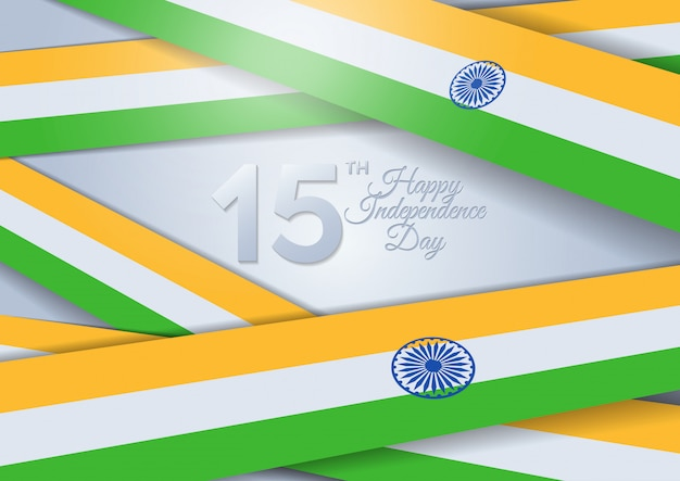 Jour de l'indépendance de l'inde. inde. 15 août