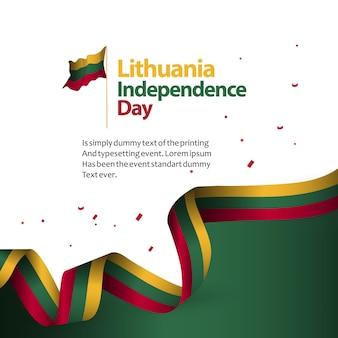Jour de l'indépendance de la lituanie