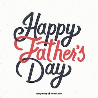 Jour de lettrage du père