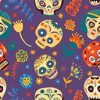 Jour des morts, célébration des fêtes mexicaines traditionnelles