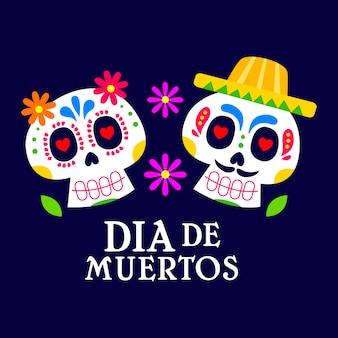 Jour des morts, dia de muertos