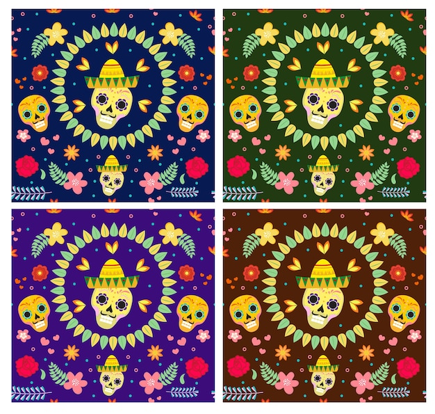 Jour des morts mexicain. dia de los muertos