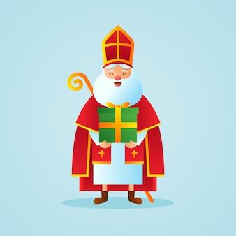 Jour de saint nicolas réaliste