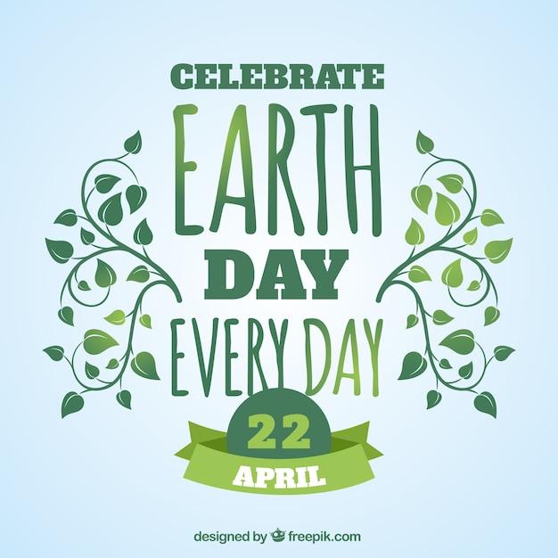 Jour de la terre celabrate