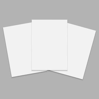 Journal ou magazine avec feuille